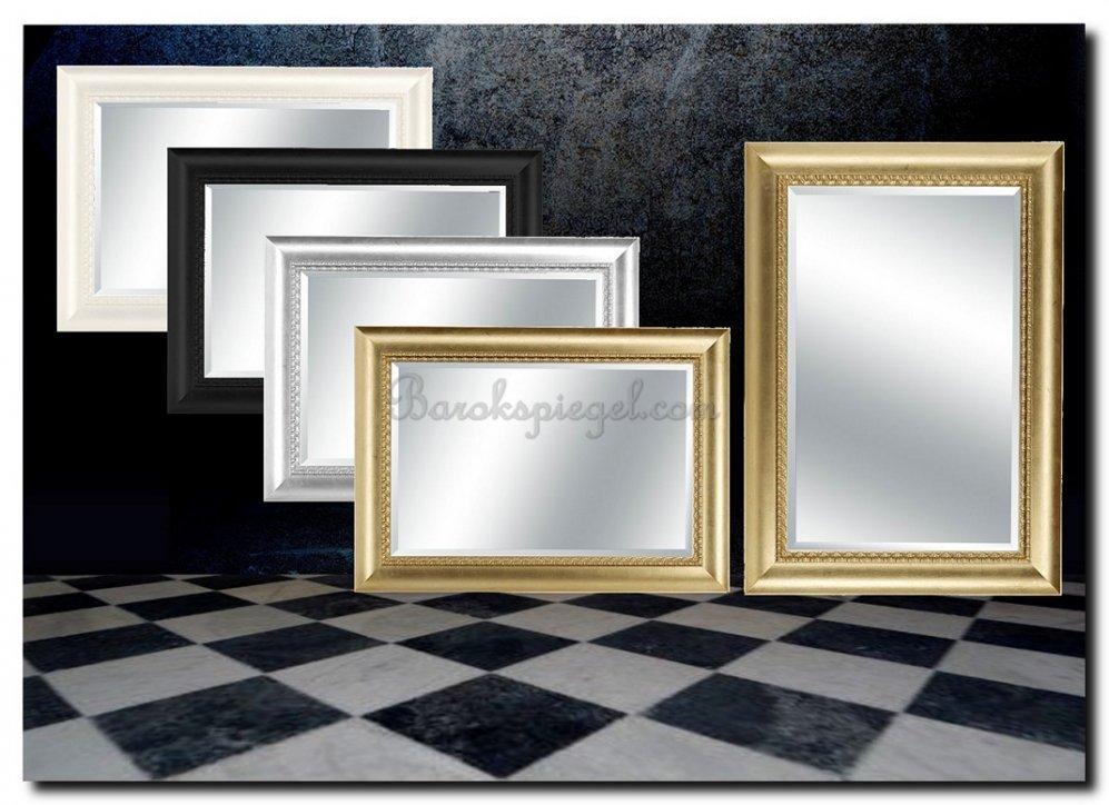Grote klassieke spiegel perla - Grote spiegel kleefstof ...