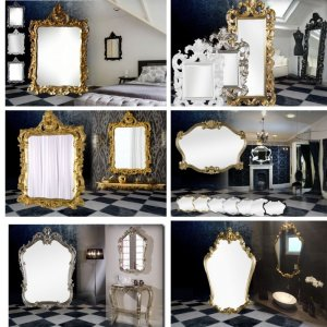 Crested Mirrors