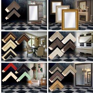 Spiegels Op Maat : Spiegels op maat houten lijst groot en klein barokspiegel