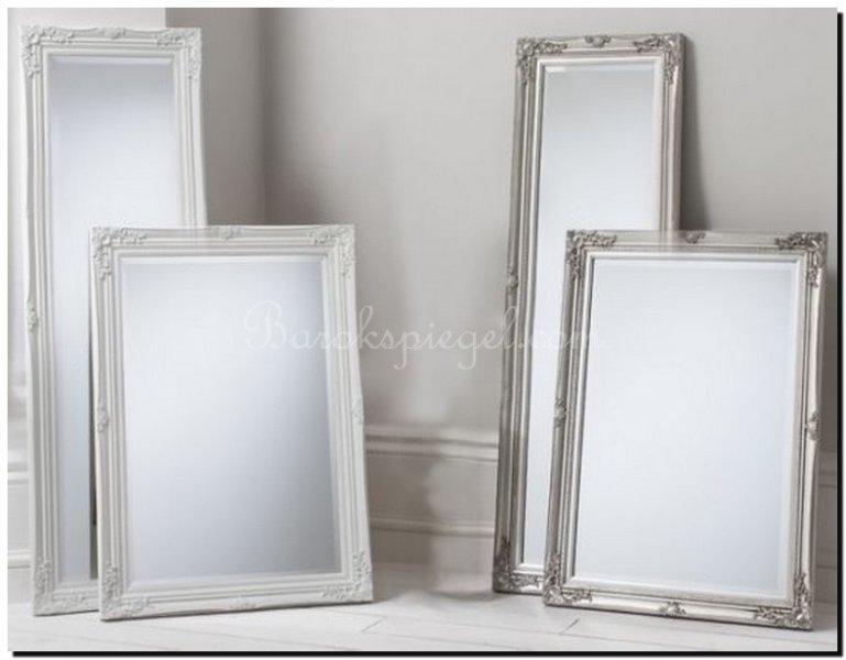 Barok Spiegel Wit : Spiegel ethan buitenmaat 66x91cm wit barokspiegel