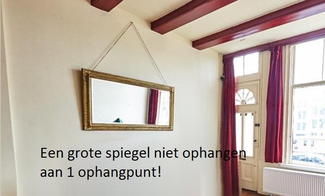 Spiegel Aan Ketting : Hoe de spiegel te bevestigen aan de muur barokspiegel