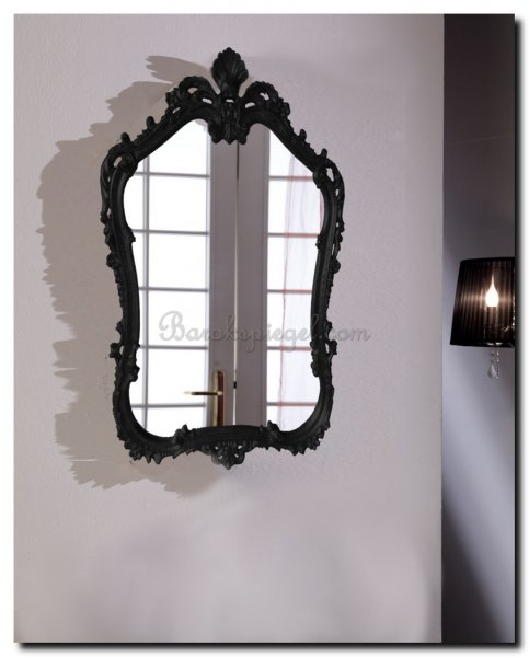 Zwarte Brocante Spiegel.De 3 Mooiste Zwarte Kuifspiegels Voor U Geselecteerd