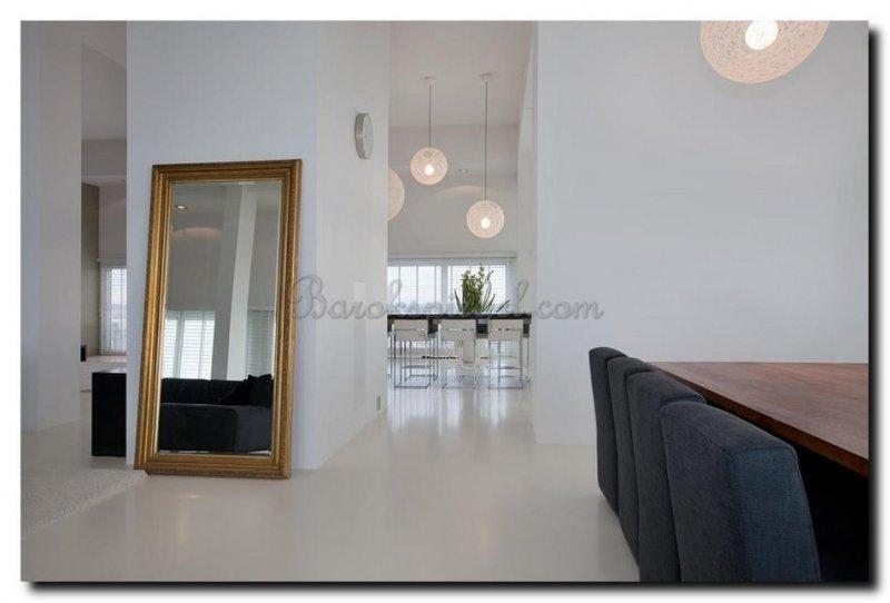 Grote Staande Spiegel : Spiegels in woonkamer barokspiegel