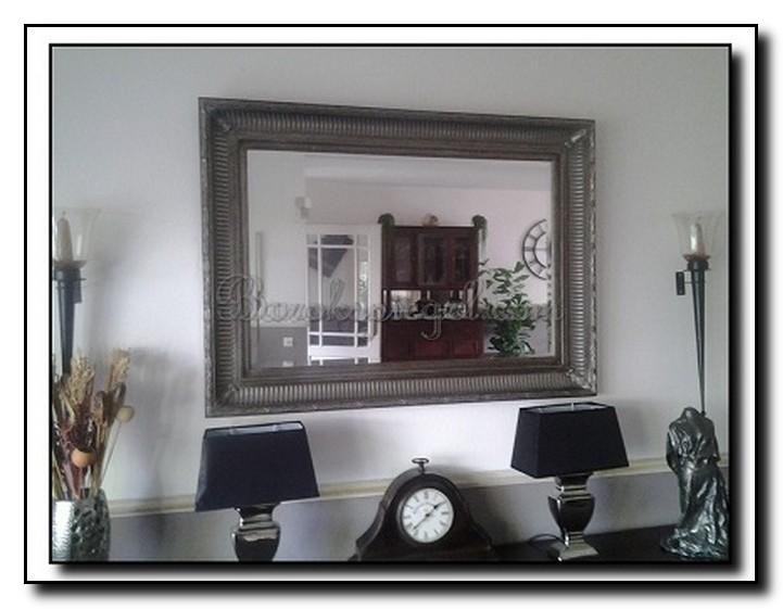 Woonkamer spiegel zwarte inspiratie het beste interieur - Designer woonkamer spiegel ...