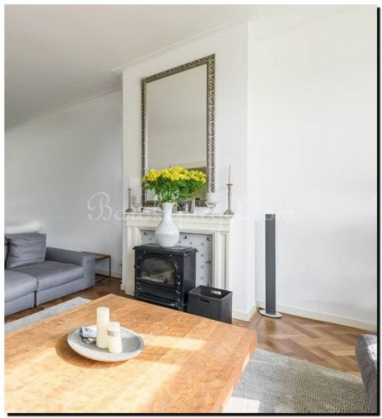 Maatwerk spiegel wietse barokspiegel for Spiegel boven dressoir
