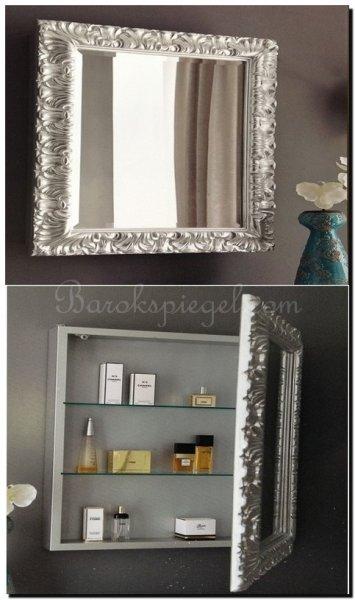 Creatief met spiegels in de badkamer met 5 leuke tips - Barok spiegel voor badkamers ...