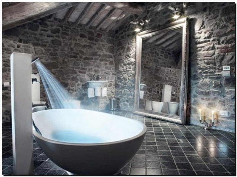 Grote Frisse Badkamer : Binnenkijken bij prachtige badkamers met de mooiste spiegels