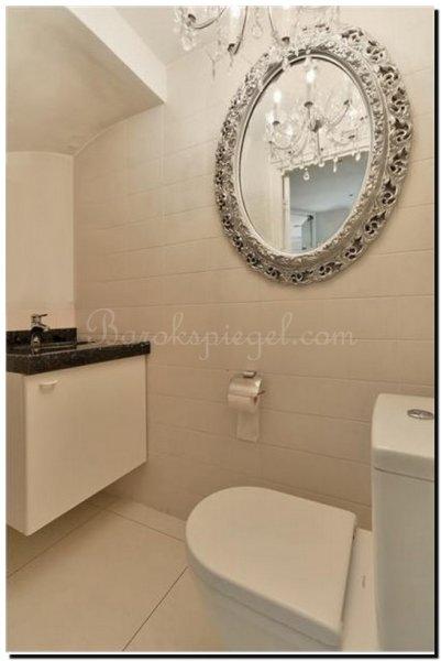 Geef je wc of toilet extra sfeer met een spiegel - Welke kleur in het toilet ...