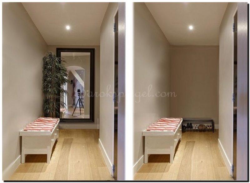 Hoe vergroot je een ruimte met een spiegel barokspiegel for Grote lange spiegel