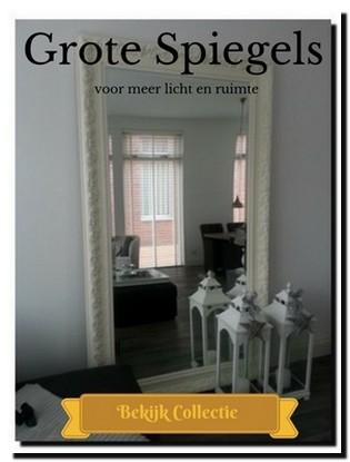 Grootste assortiment spiegels online winkel webshop for Barok spiegel groot