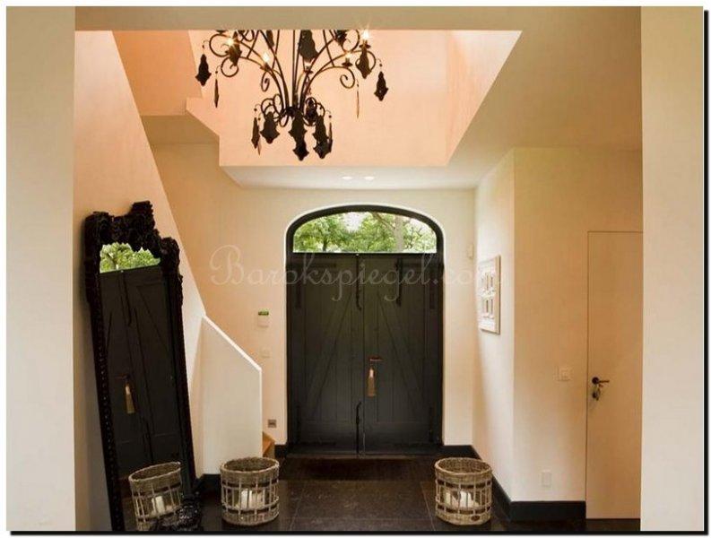 Zwarte Interieur Tips : Tips voor een gooische spiegel in een gooisch interieur barokspiegel