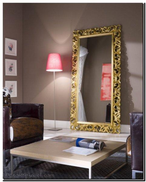 Een spiegel lijst in de kleur goud welke kleur goud past bij mij - Lijst van warme kleuren ...