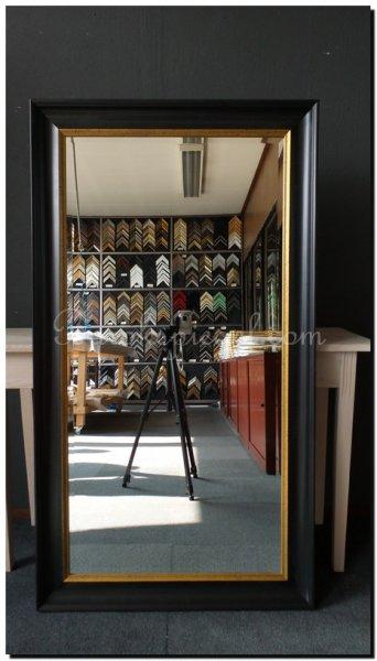 Maatwerk spiegel bearend barokspiegel for Ronde spiegel op maat