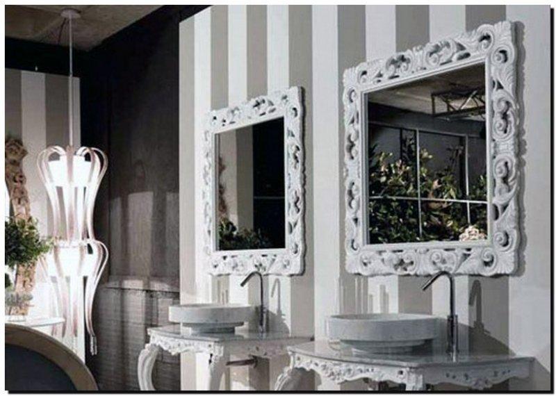 Barok Spiegel Wit : Barok spiegel luciana barokspiegel