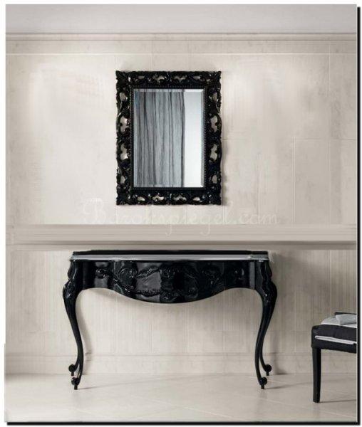 Zwarte Barok Sidetable.De Tafelspiegel Welke Spiegels Zijn Geschikt Als Tafel