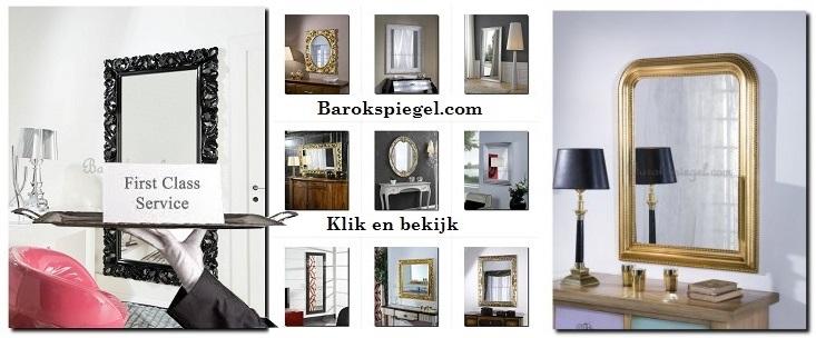 Grootste assortiment spiegels online winkel-webshop - barokspiegel.com