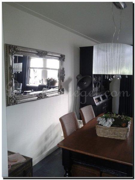 Spiegels in woonkamer - barokspiegel.com