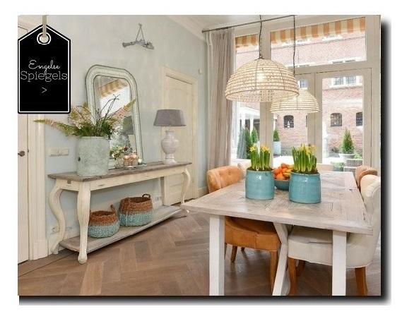 Grote Barok Spiegel : Spiegels brocantemarktplaats