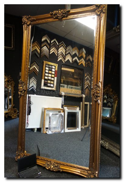 Barok spiegel donatello antiekgoud barokspiegel for Barok spiegel groot
