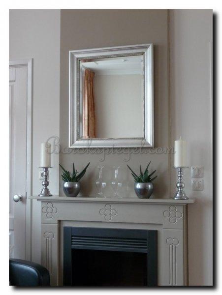 Spiegels boven een schouw   barokspiegel com