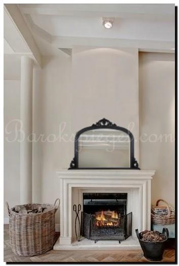 Spiegels boven een schouw - barokspiegel.com