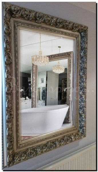 Grote wandspiegel antonio barokspiegel for Barok spiegel groot