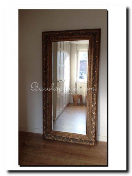 spiegel sloophouten lijst tips voor het plaatsen van een grote staande spiegel op de
