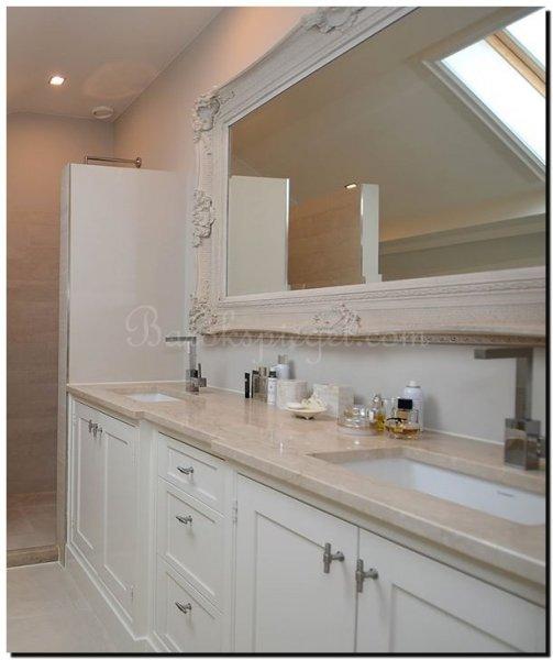 Barok spiegel donatello wit barokspiegel for Barok spiegel groot