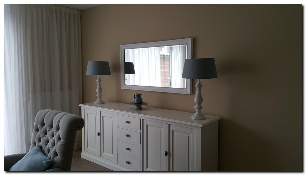 Klassieke spiegel nino wit barokspiegel for Spiegel boven dressoir
